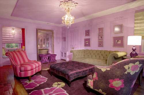 Розовый цвет в интерьере  40 примеров идей на фото iHouzzru